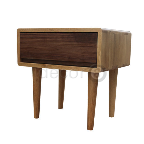Solid Wood Night Stand Table