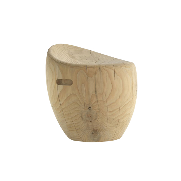 The Ohm Solid Wood Stool