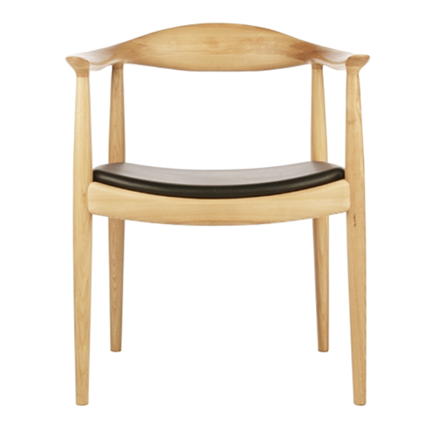 The Classic Hans Wegner Style Round Chair