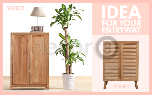 Solid Wood Cabinet and Storage For Your Entryway