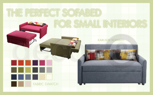The Perfect Sofa Bed For Small Interiors