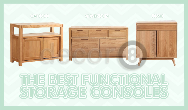 The Best Functional Storage Consoles