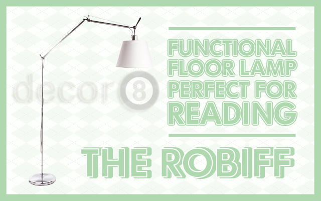 The Robiff Functional Floor Lamp Perfect for Reading