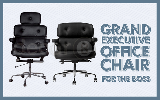 Grand Executive Office Chair For The Boss