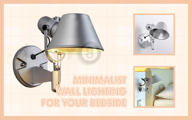 Minimalist Wall Lighting For Your Bedside