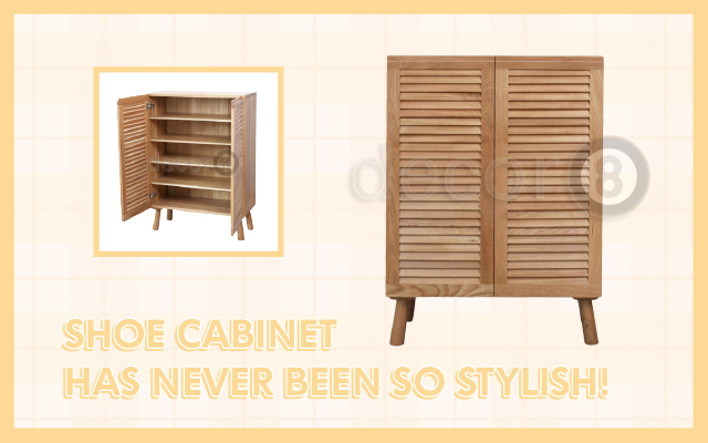 Shoe Cabinet Has Never Been So Stylish!