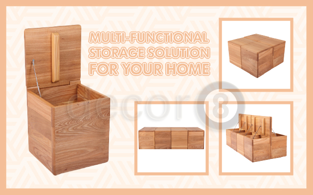 Multi-Functional Storage Solution For Your Home