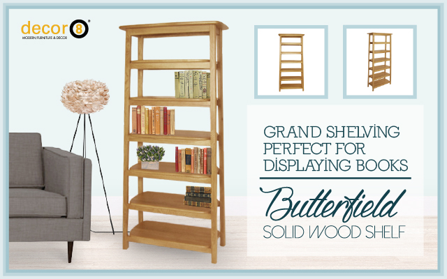 Grand Shelving Perfect For Displaying Books