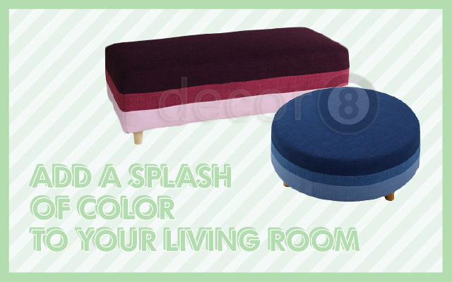 Add A Splash Of Color To Your Living Room