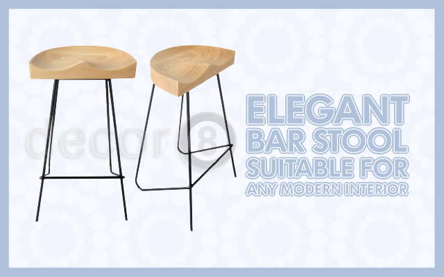 Elegant Bar Stool Suitable For Any Modern Interior