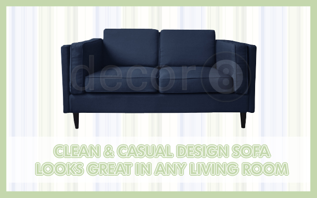 Clean & Casual Design Sofa Looks Great In Any Living Room