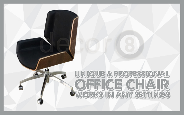 Unique & Professional Office Chair Works In Any Settings