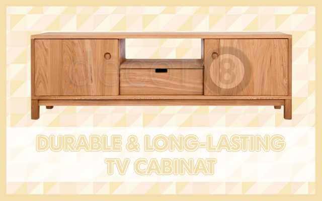 Durable & Long-Lasting TV Cabinet