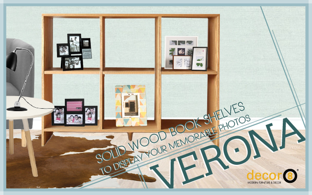 Solid Wood Book Shelves To Display Your Memorable Photos
