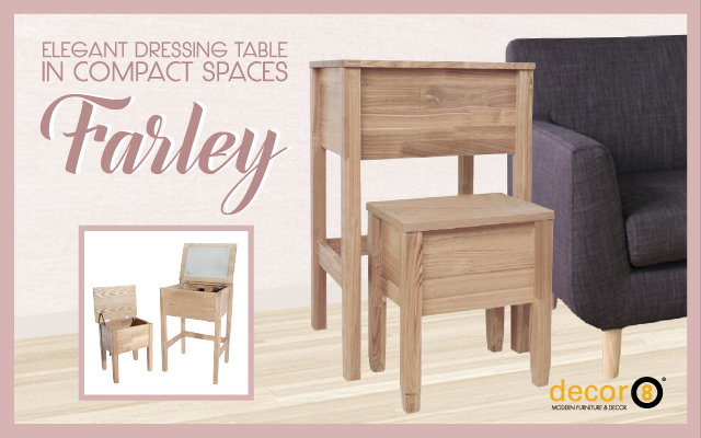 Elegant Dressing Table in Compact Spaces