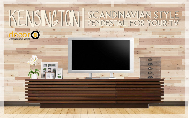 Scandinavian Style Pedestal For Your TV
