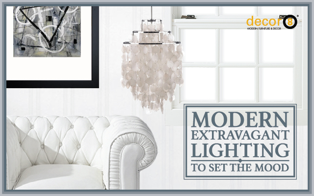 Modern Extravagant Lighting To Set The Mood