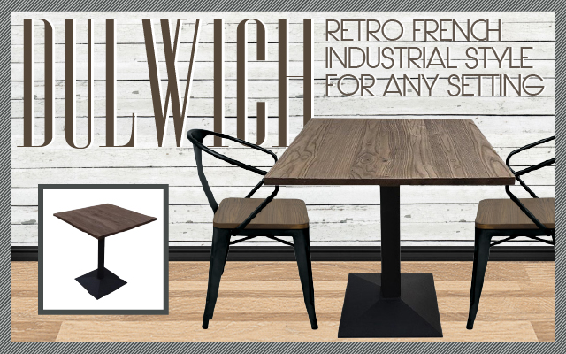 Retro French Industrial Style For Any Setting
