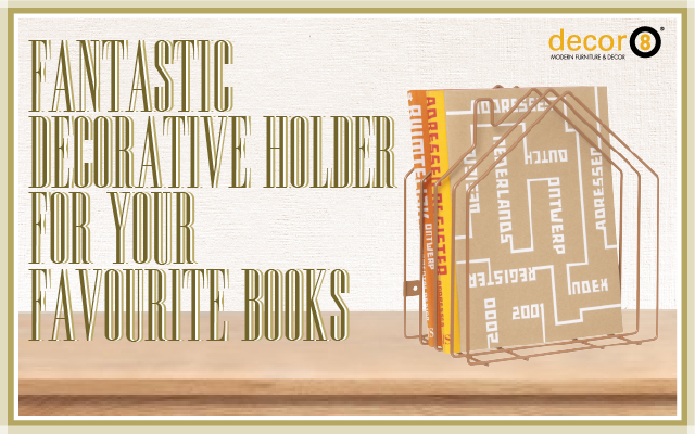 Fantastic Decorative Holder For Your Favourite Books
