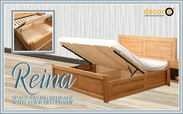 Space saving storage with your bed frame for Space saving bed frame