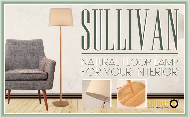 Natural Floor Lamp For Your Interior