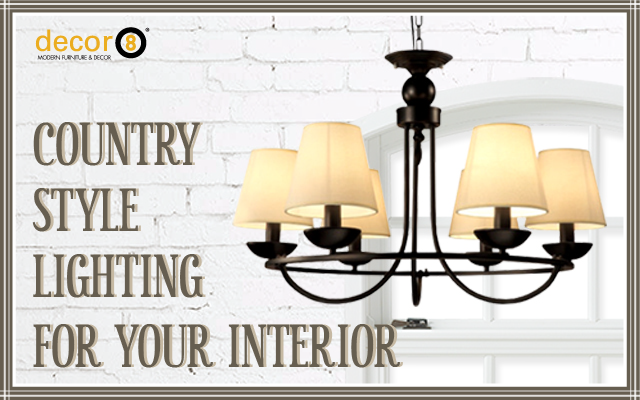 Country Style Lighting For Your Interior