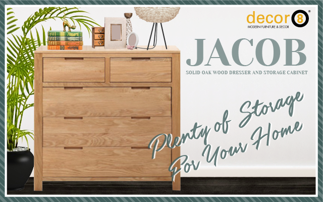 Jacob Wood Storage Cabinet
