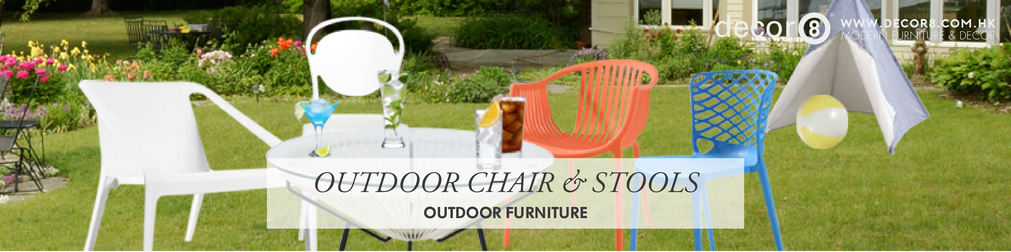 Outdoor Chair & Stools