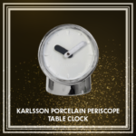 Karlsson Porcelain Periscope Table Clock