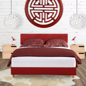Red Fenwick Bed