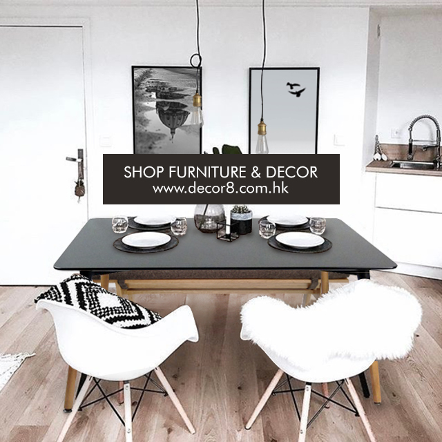 Contrasting Dining Space